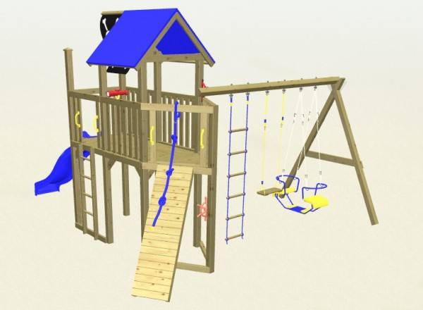 Winnetoo Spielturm Pirat 6 Komplettset
