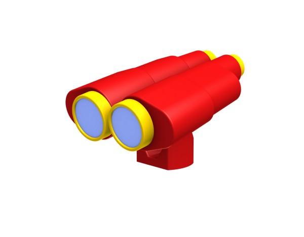 Winnetoo Doppelfernrohr rot/gelbNr. 4256