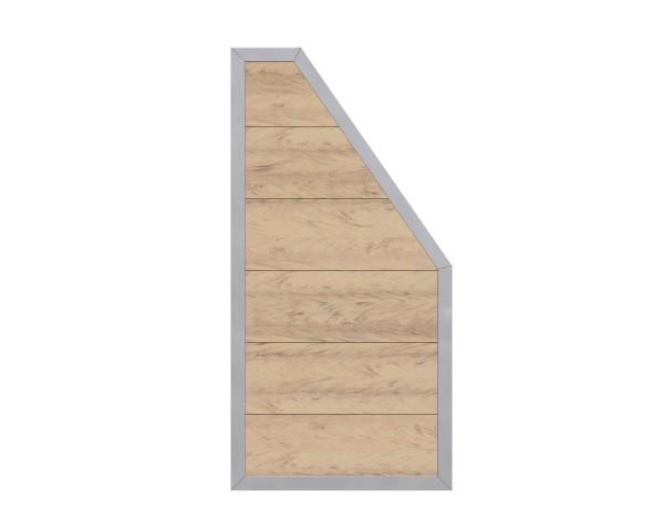 Tr. Design WPC Alu Anschluss sand, Nr. 2446