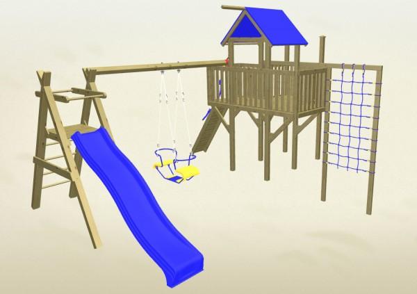 Winnetoo Spielturm Hexe 4 Komplettset