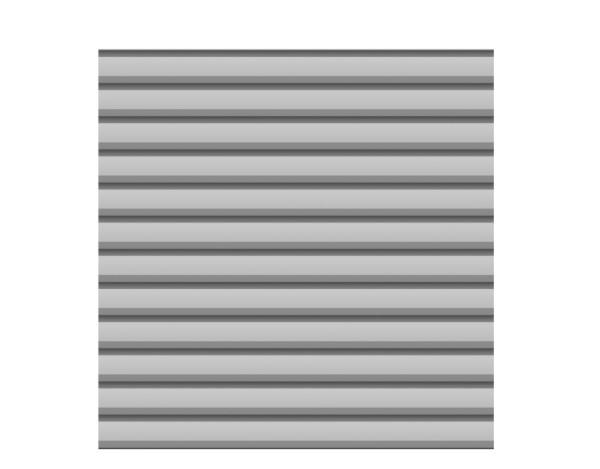 System Metall Basic Zaun silber 179 x 180 cm Nr. 2751
