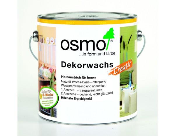 OSMO Dekorwachs weiß 3111, 2,500 l