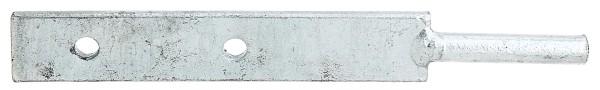 Alberts Pfeilerlasche m. Stift 190 mm                  213138