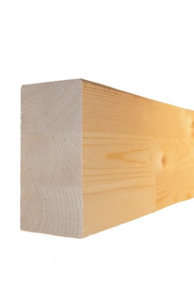 6 x 12 cm Leimholzbinder Fi. BSH GL 24 c/h EN 14080-2013, hell verleimt