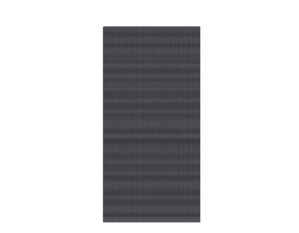 Weave Rechteck anthrazit 88 x 178 cm, Nr. 2021