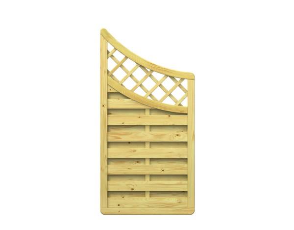 Traumgarten XL Anschluss-Zaun mit Gitter Nr.1198
