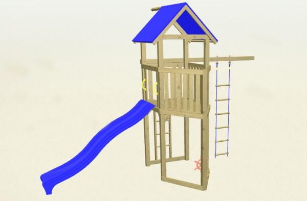 Winnetoo Spielturm Pirat 2 Komplettset
