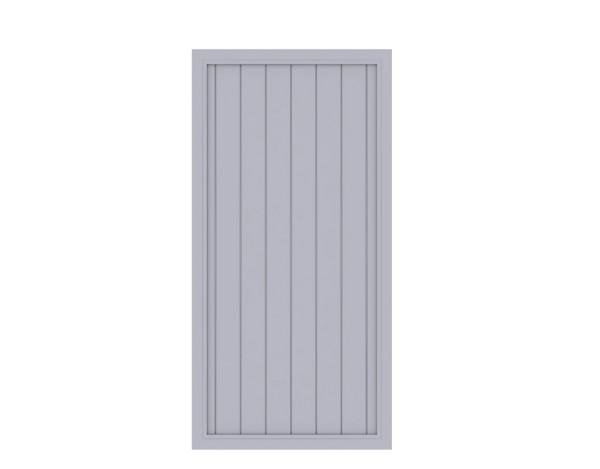 LongLife Riva gerade Grau 90 x 180 cm, Nr. 1832