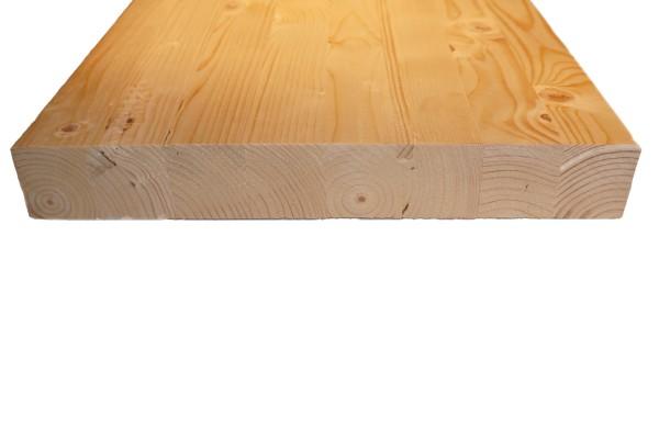 4,5 x 32 cm Leimholzbinder Fi. BSH GL 24 c/h EN 14080-2013, hell verleimt