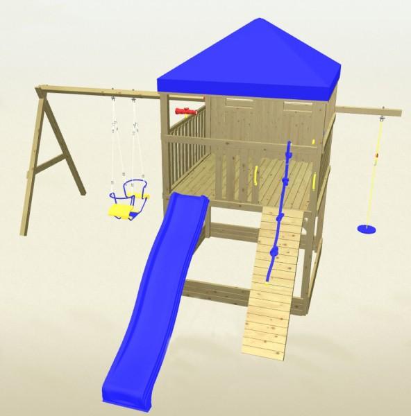 Winnetoo Spielturm Detektiv 5 Komplettset