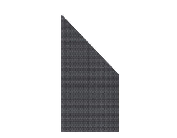 Weave Anschluß anthrazit 88 x 178/88 cm, Nr. 2023
