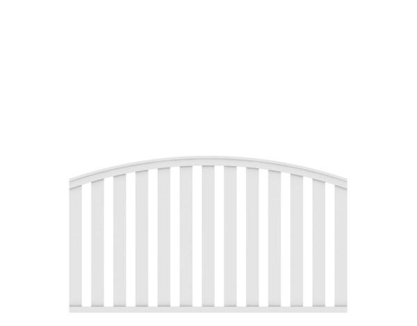 LongLife Cleo rund Vorgarten Zaun Nr. 1841