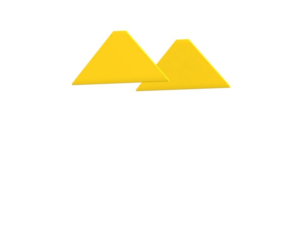 Winnetoo Giebel für Spielturm, pflegeleicht gelb Nr. 4265