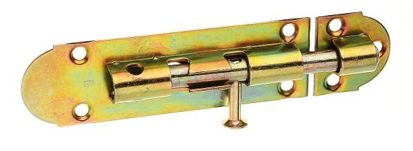 Alberts Grendelriegel m. Schl. montiert,verz. 100 mm   124083
