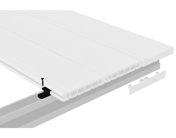 Dreamdeck WPC Kunststoffclips 100er-Set, Nr.2082
