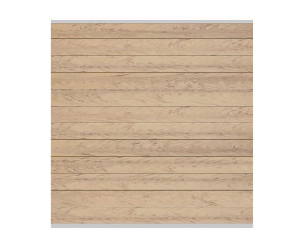System WPC Zaun-Set sand, silb. Leiste Nr.2234
