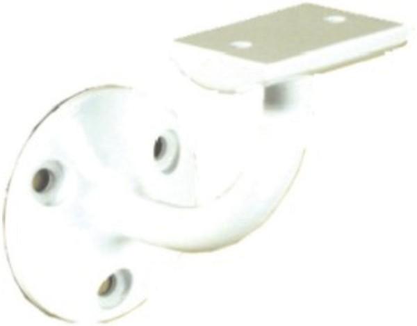 Handlaufhalter B, weiß Wandabstand 70 mm        49081