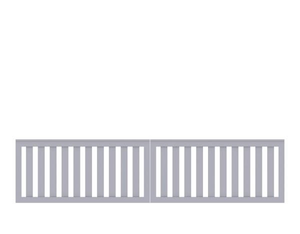 LongLife Cleo Doppeltor, grau Nr. 1868