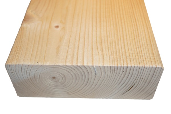 6x16 cm KVH Konstruktionsvollholz Fi/Ta, egalisiert, gefast