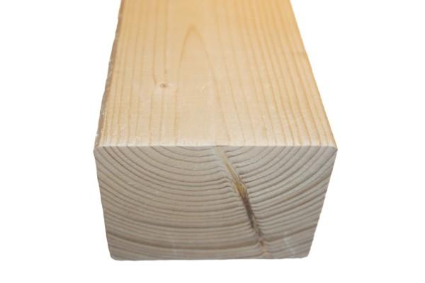 8x10 cm KVH Konstruktionsvollholz Fi/Ta, egalisiert, gefast