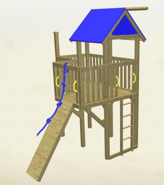 Winnetoo Spielturm Hexe 1 Komplettset