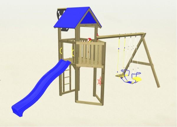 Winnetoo Spielturm Pirat 5 Komplettset