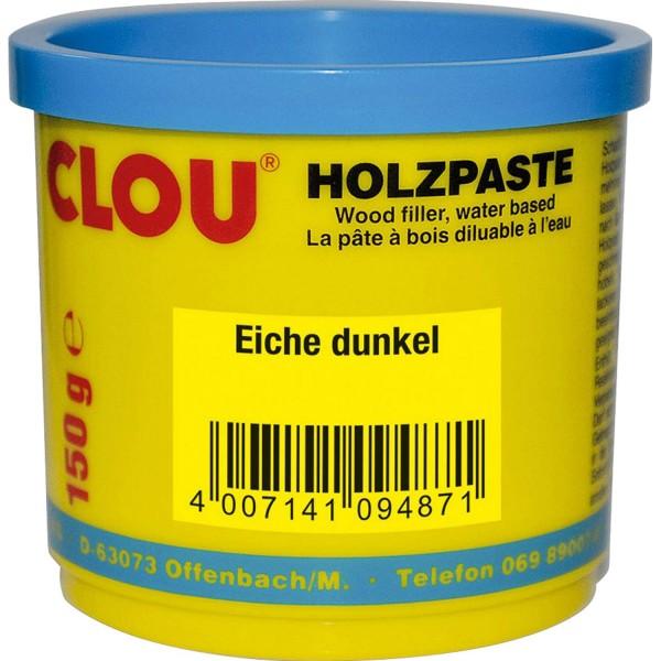 Clou Holzpaste eiche dunkel 150 g