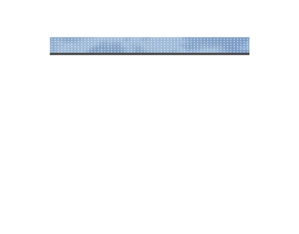 SyWPC Dekorprofil Glas/Theta flach Set Nr.2321