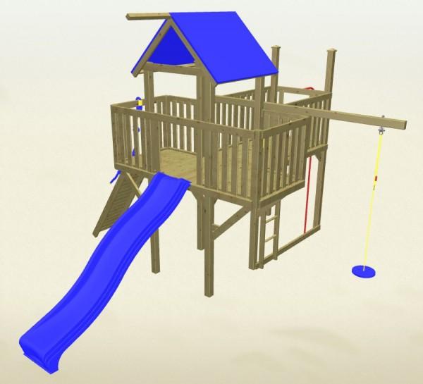 Winnetoo Spielturm Hexe 3 Komplettset
