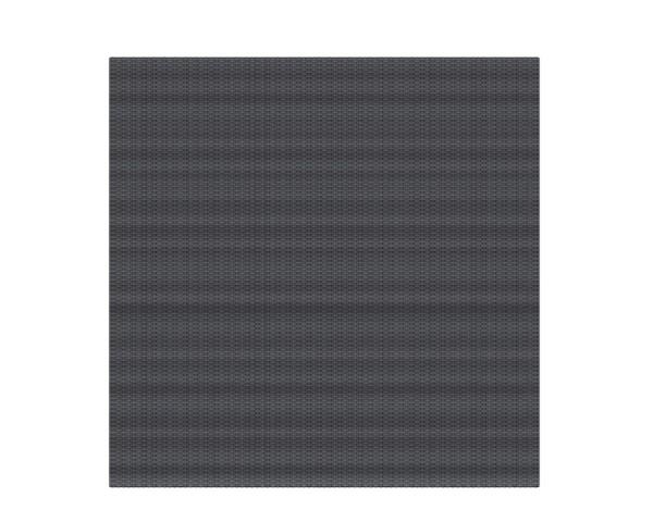 Weave Rechteck anthrazit 178 x 178 cm, Nr. 2020