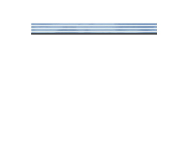 SyWPC Dekorprofil Glas/Delta flach Set Nr.2319