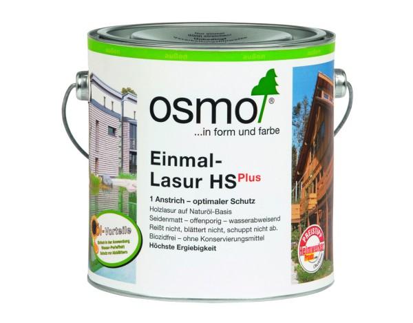 OSMO Einmal Lasur HS Plus Fichte-weiß 9211,  2,50 l