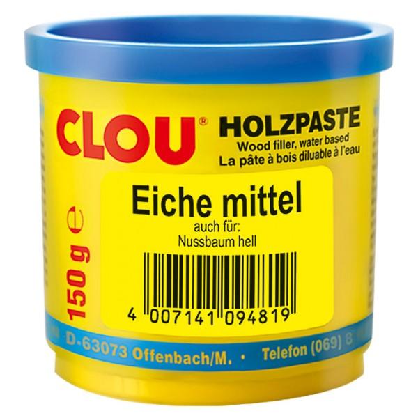 Clou Holzpaste eiche mittel 150 g