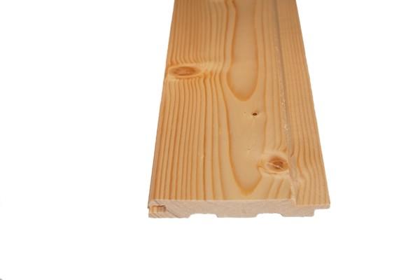 12,5 x 96 mm Profilholz nord.Fichte/Tanne B-Sortierung