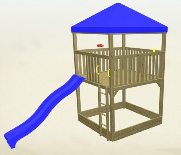 Winnetoo Spielturm Detektiv 2 Komplettset