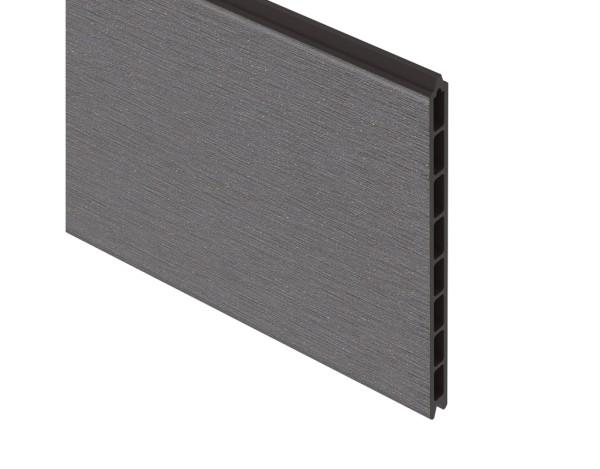 System WPC XL Einzelprofil anthrazit, Nr.2597