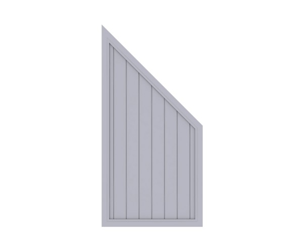 LongLife Riva Anschluß Grau 90 x 180/90 cm, Nr. 1833