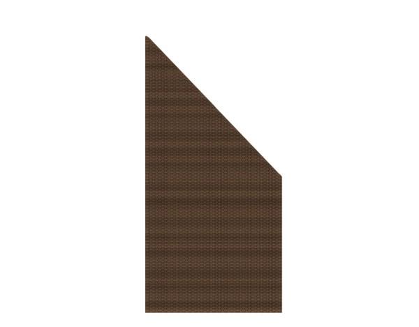 Weave Anschluß mocca 88 x 178/88 cm, Nr. 2013