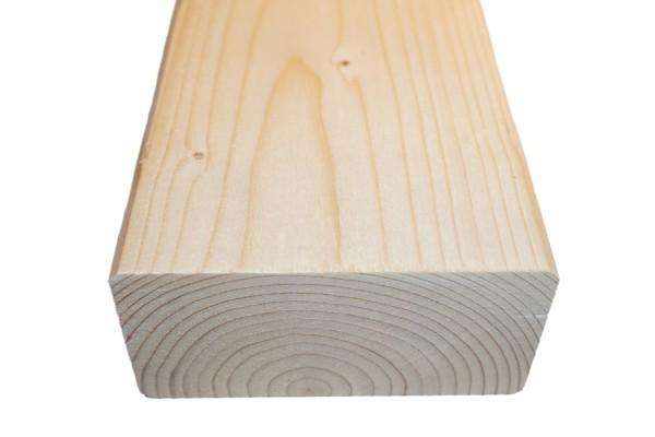6x10 cm KVH Konstruktionsvollholz Fi/Ta, egalisiert, gefast