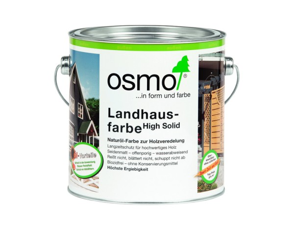 OSMO Landhausfarbe 2,5 l  Tannengrün  2404