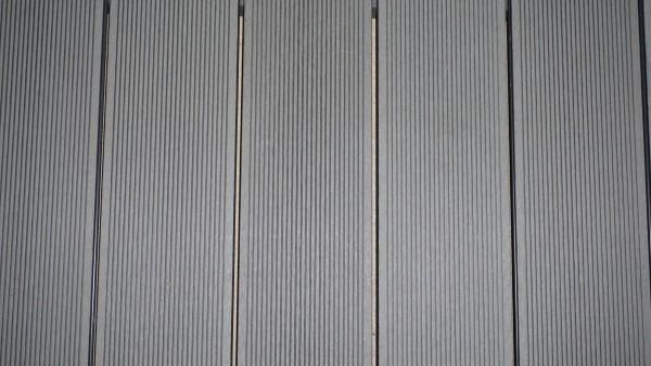 40 x 60 mm WPC Nature Deck Abschlußprofil  hellgrau