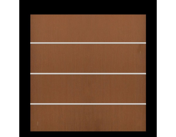Tr. Board XL Zaun-Set rost 178 x 180 cm  Nr. 2804