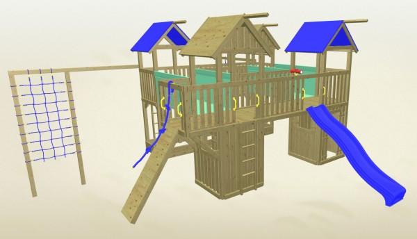 Winnetoo Spielturm Fee 6 Komplettset