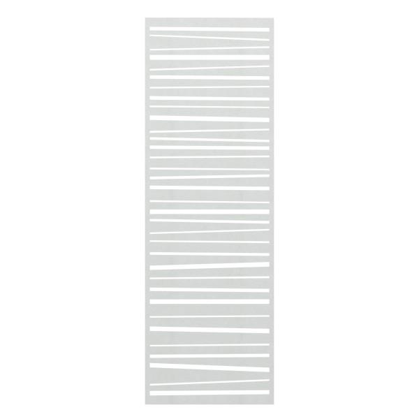 System Gitter Metall Linea silber, Nr.2834