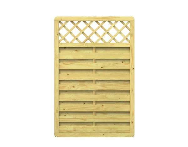 Traumgarten XL Rechteck-Zaun mit Gitter Nr. 1197