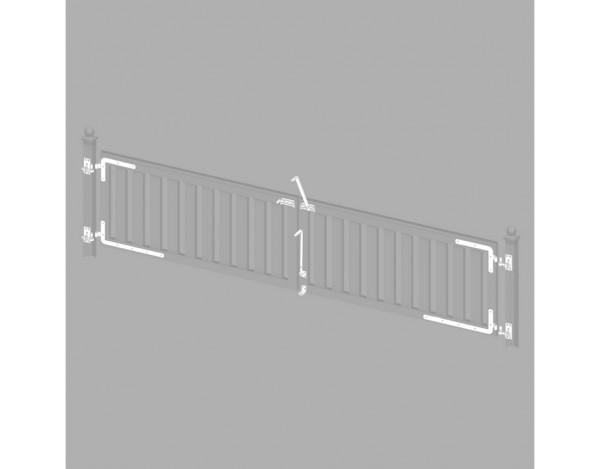 Beschlagsatz für CLEO-Doppeltor  Nr. 2345