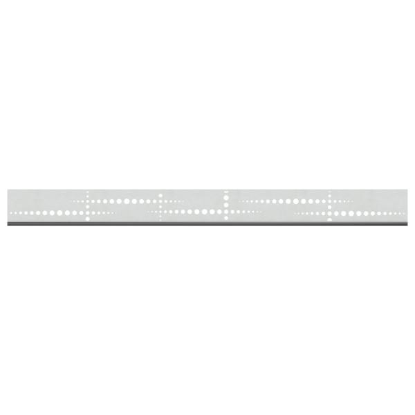 Tr. System Dekorprofil Puls silber, flach  Nr. 3296