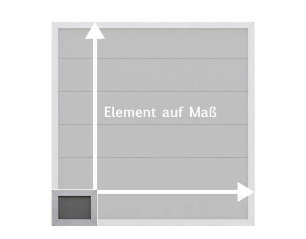 Tr. Design WPC Alu anthrazit, Maßanfertigung 2 Nr. 2291