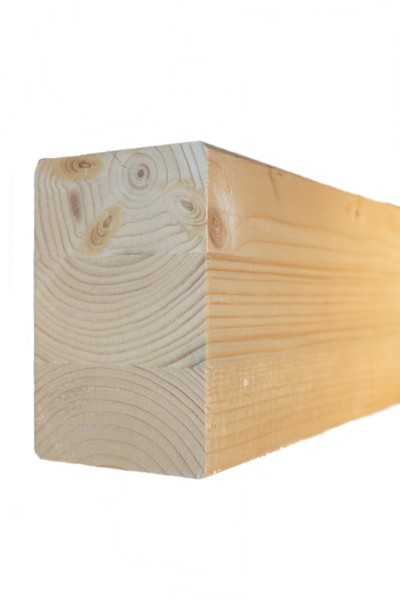 8 x 12 cm Leimholzbinder Fi. BSH GL 24 c/h EN 14080-2013, hell verleimt