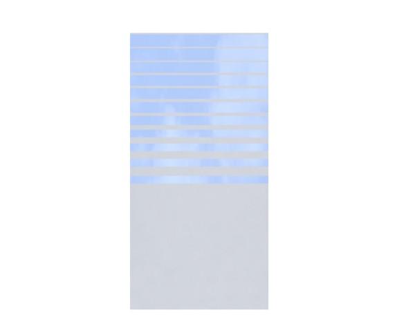 TR Glas Systemzaun Rechteck BETA 90 x 180 cm, Nr. 2309
